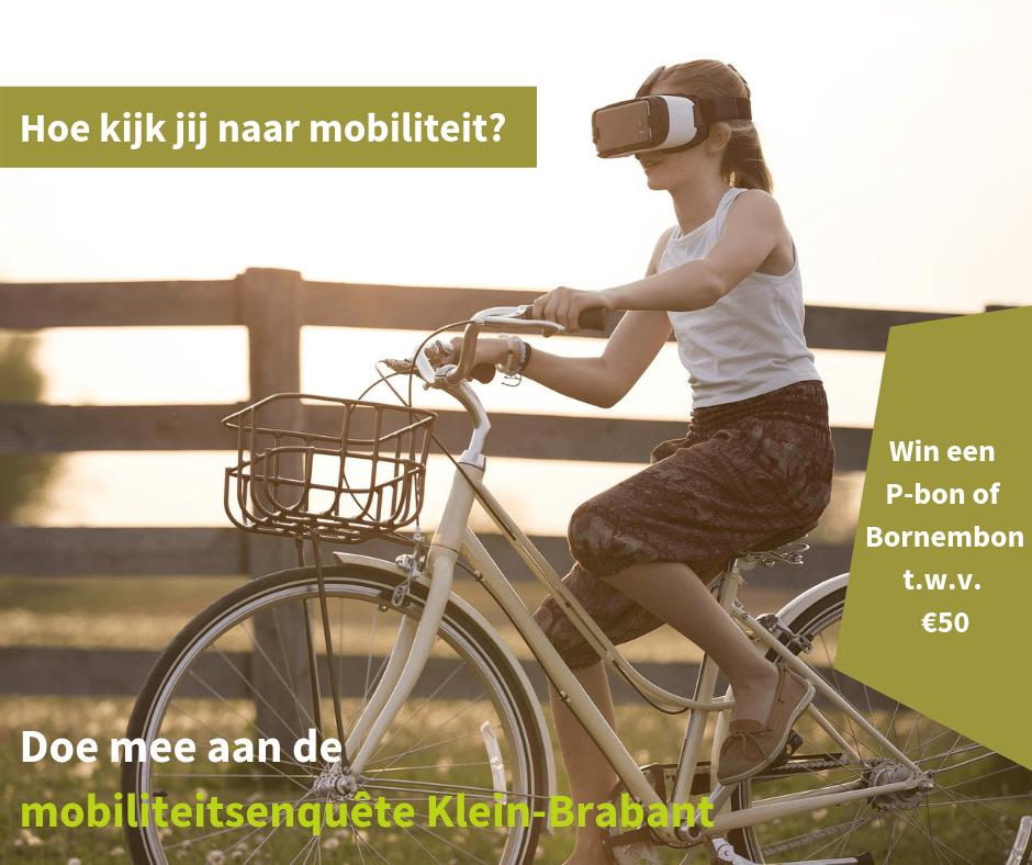Mobiliteitsenquête Klein-Brabant peilt naar behoeften inwoners