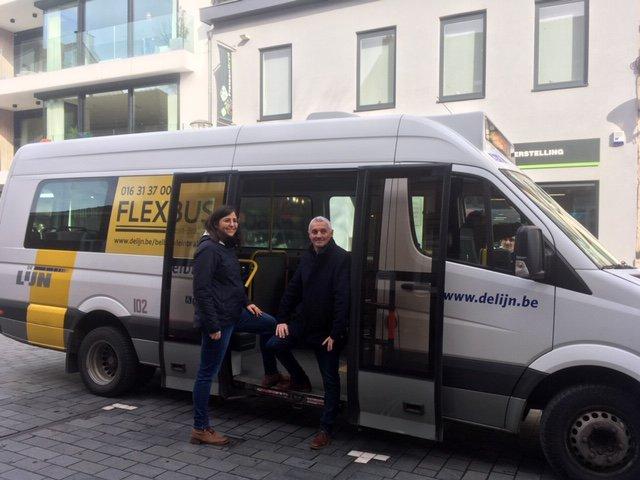 Flexbus Klein-Brabant verlengd wegens succes