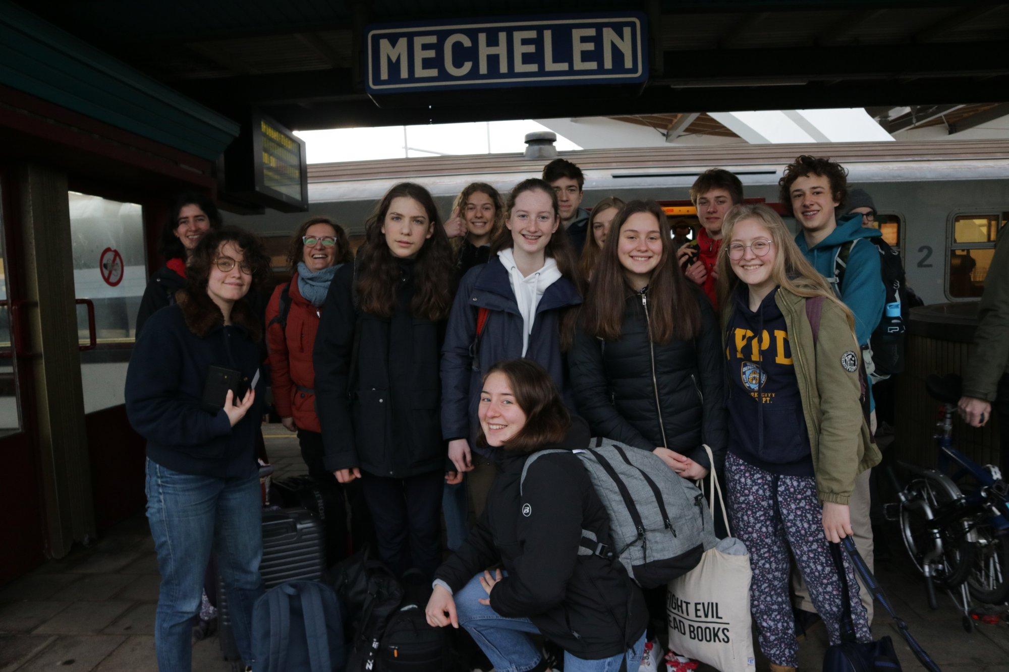 Reisdagboek: college Hagelstein pendelt naar Denemarken