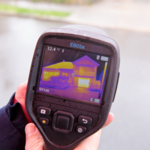 thermografische scan