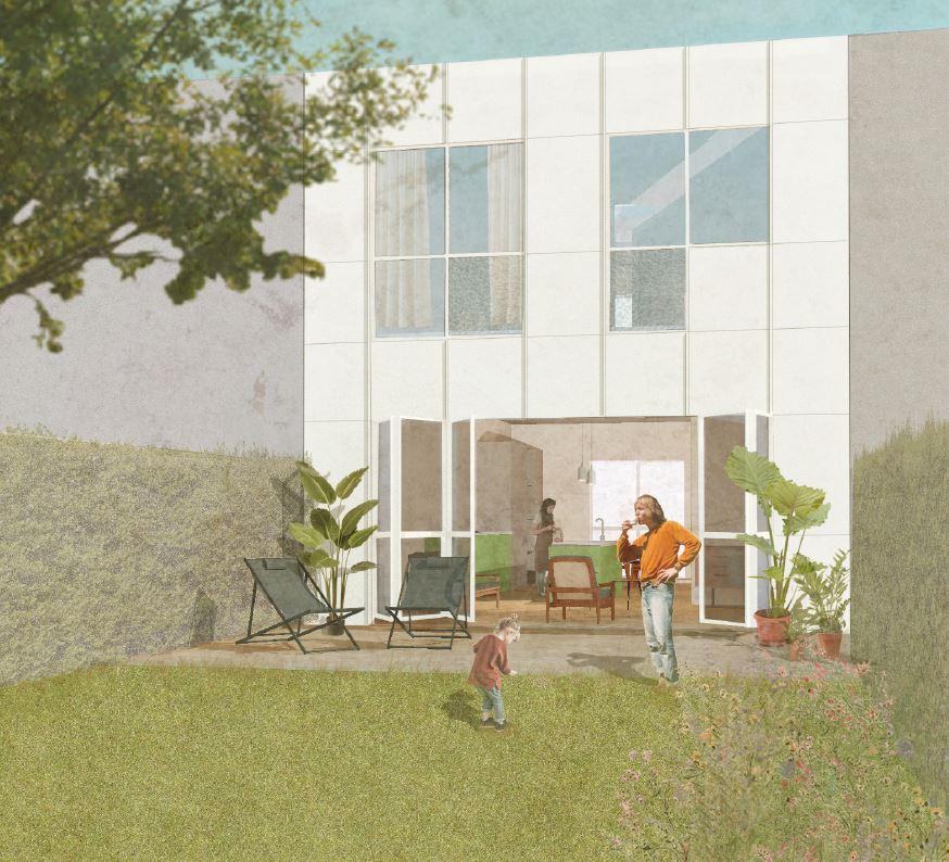 Kwalitatieve architectuur in het groen, Woonproject Papenhof