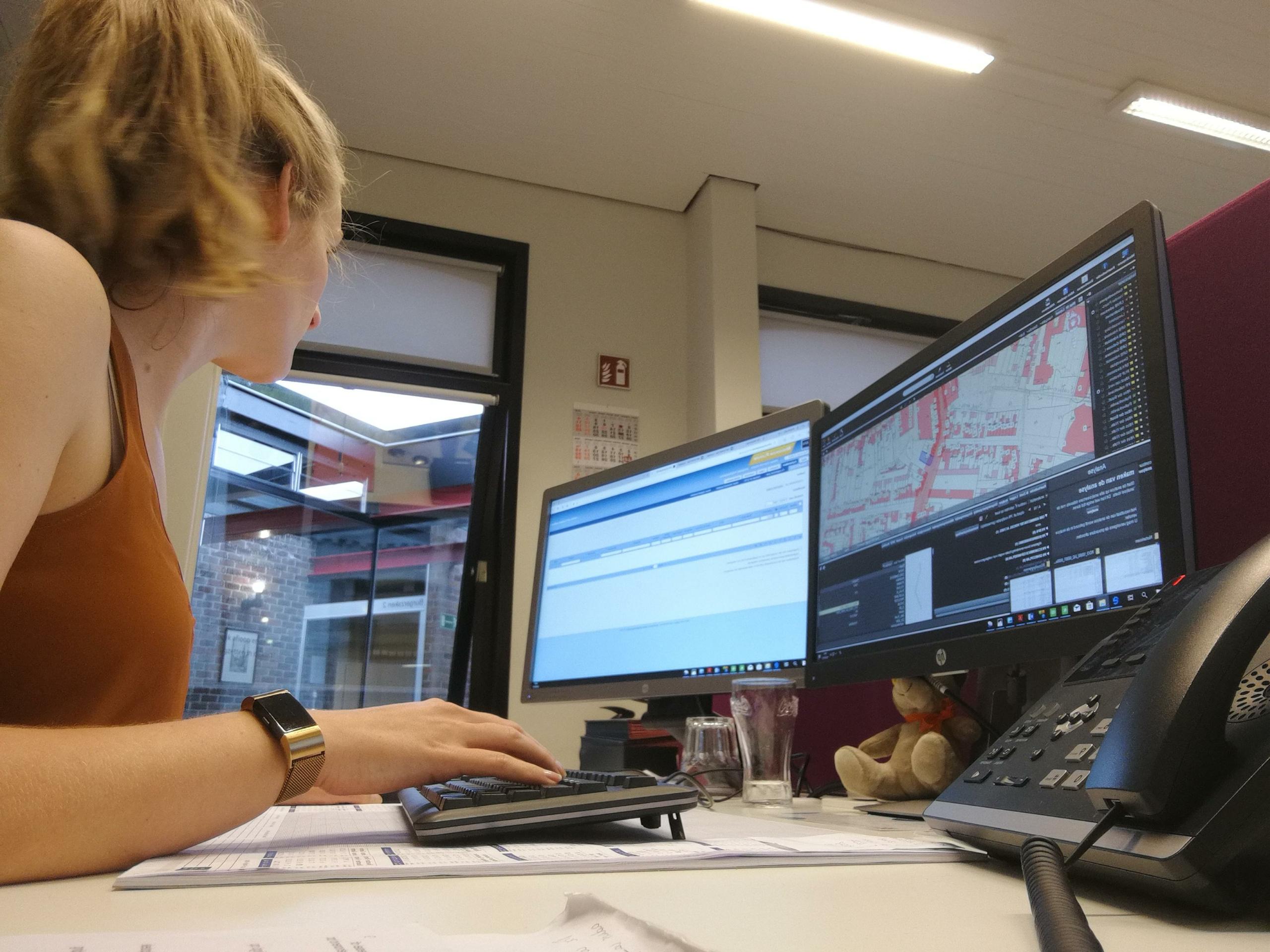 Sigrid Palmers in Puurs-Sint-Amands op de intergemeentelijke omgevingsdienst