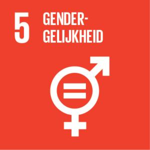 Pictogram van SDG gendergelijkheid