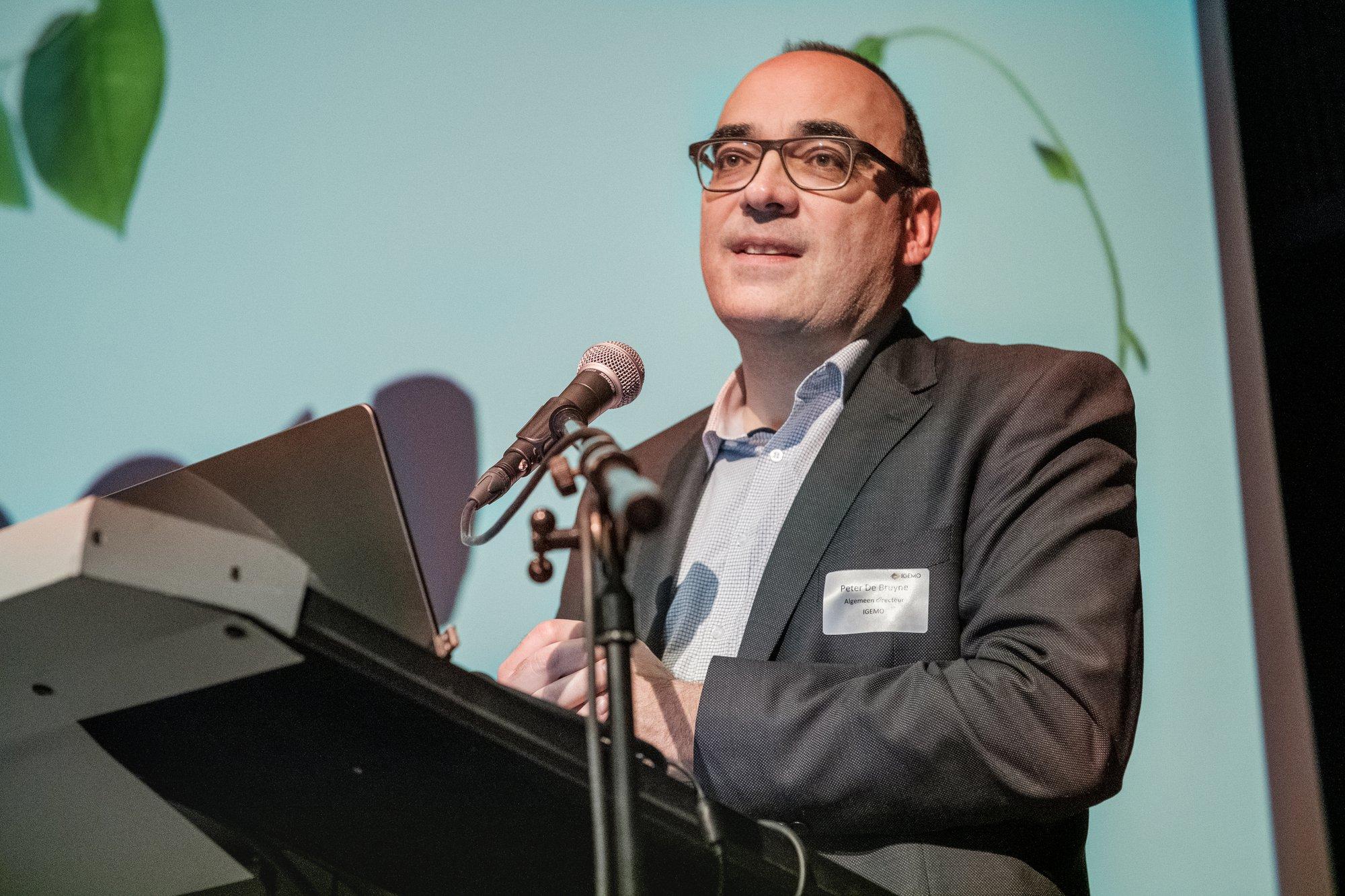 Peter De Bruyne 25 jaar in dienst van IGEMO en Rivierenland