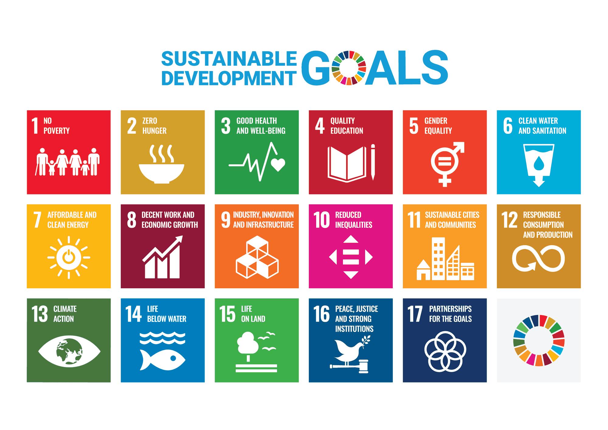 SDG's: economisch, sociaal en ecologisch voor duurzame ontwikkeling